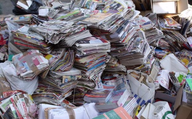 Őszi papírgyűjtés