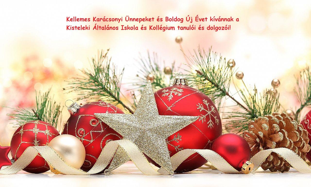 Kellemes karácsonyi ünnepeket és boldog új évet kívánunk mindenkinek!