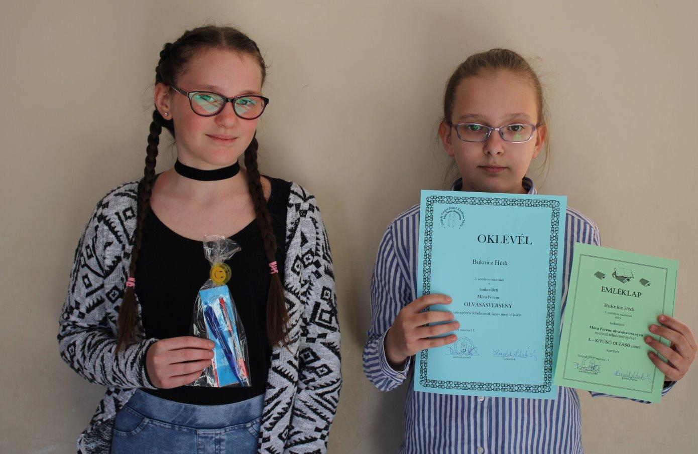 Móra Ferenc olvasás-szövegértés verseny