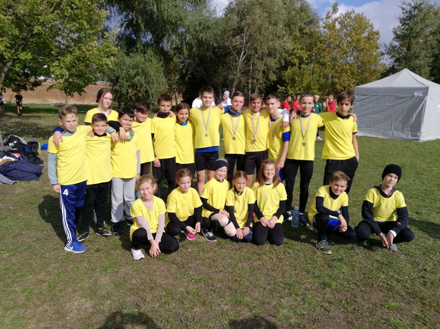 Megyei siker atlétikából, Mezei Futás Diákolimpia Csongrád-Csanád Megyei Döntő